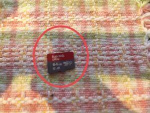 GoPro 7 SDカード